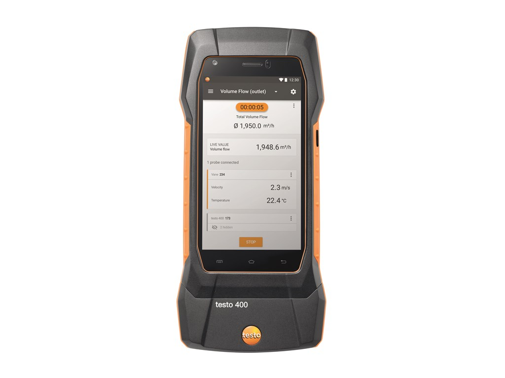 Testo 400 IAQ multiinstrument inkl. kuffert