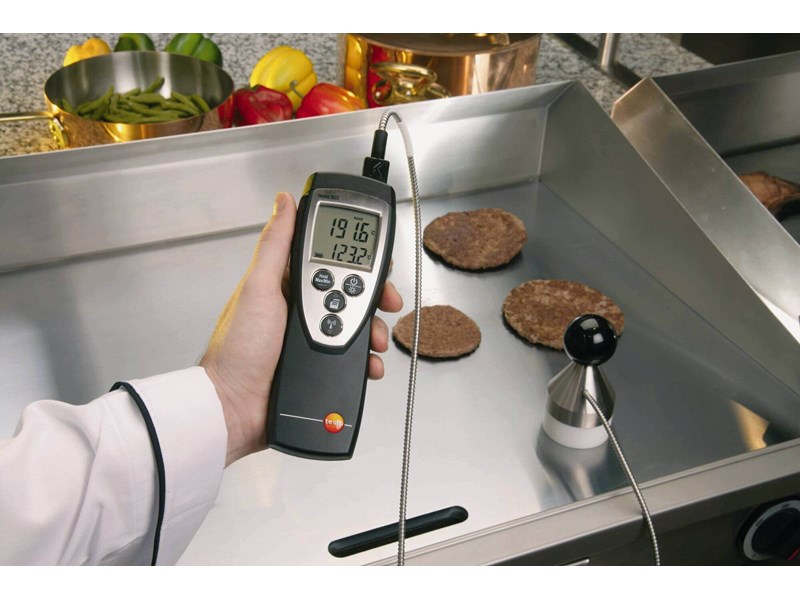 Testo 925 termometer. Termometer med stort måleområde 6fb3b9827476e