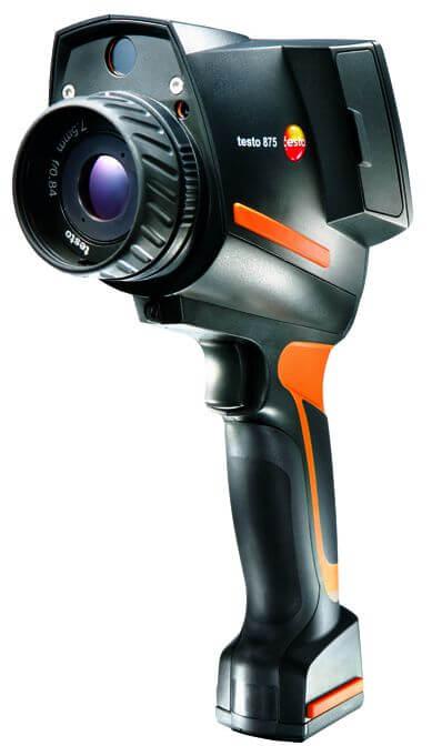 testo 875 1i prisbilligt termografikamera til almen brug. Black Bedroom Furniture Sets. Home Design Ideas