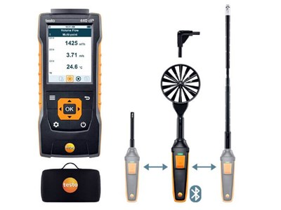 Testo 440 dp flow kombisæt 2 med Bluetooth
