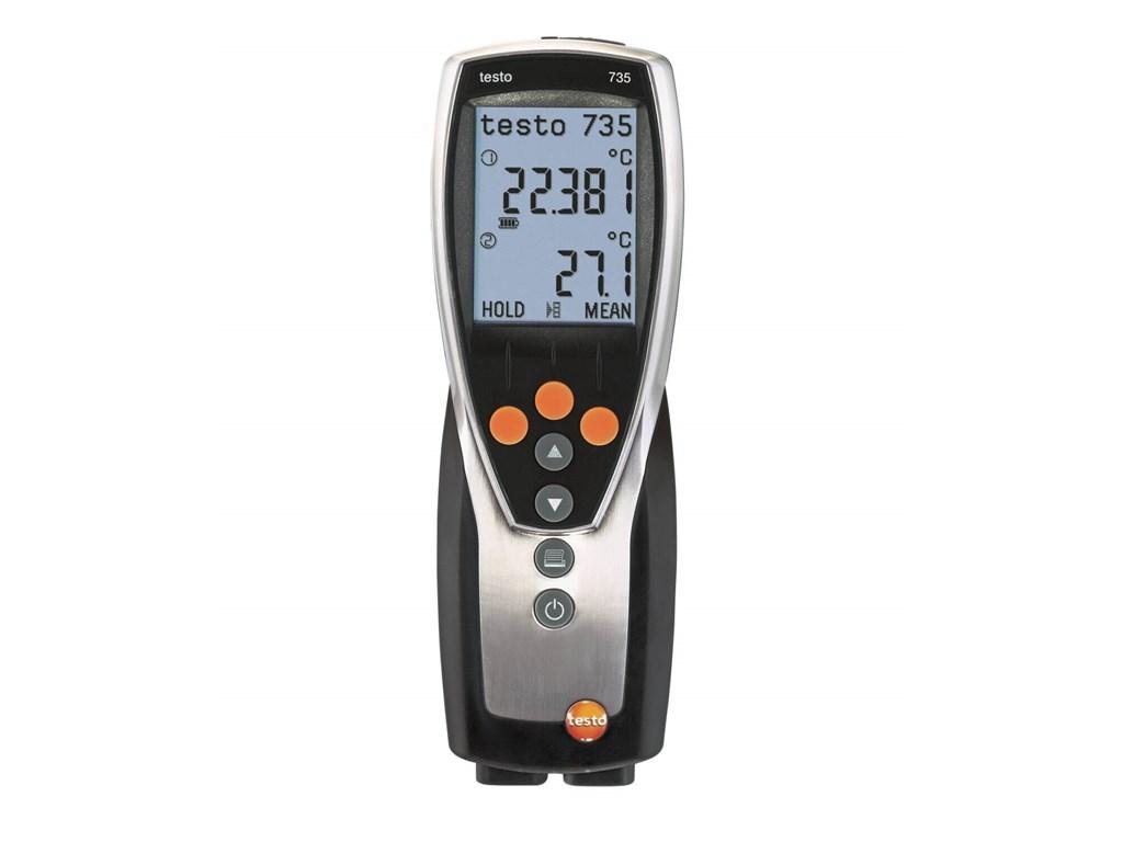 Højpræcisions termometer med hukommelse - op til 6 følere. Kvalitets  måleudstyr fra Testo. d1d731d96b5ec