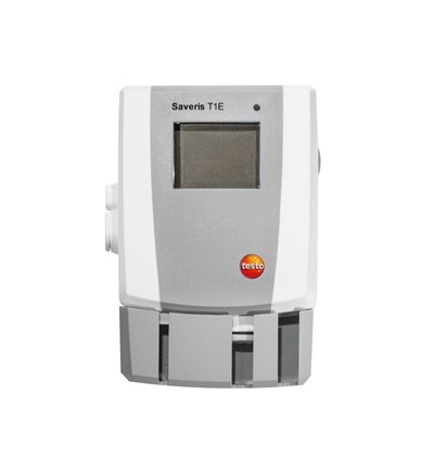 Saveris T1E ethernet datalogger ekstern temp.føler NTC, display