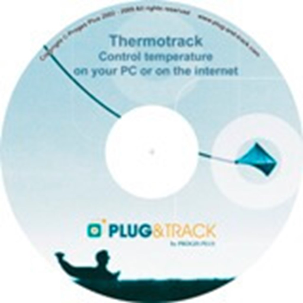 Thermotrack PC Program, Pack Pro incl. USB reader
